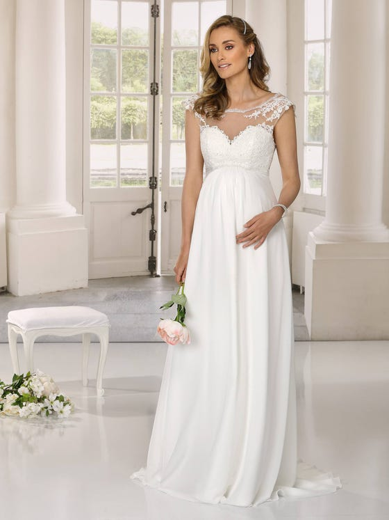 Pregnant? Get married in a Ladybird maternity wedding dress - style 521042ZW