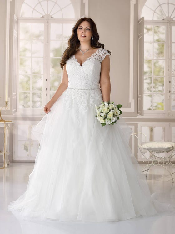 Wedding dress in size 50 or more? Ladybird Plussize collection - style LS421063